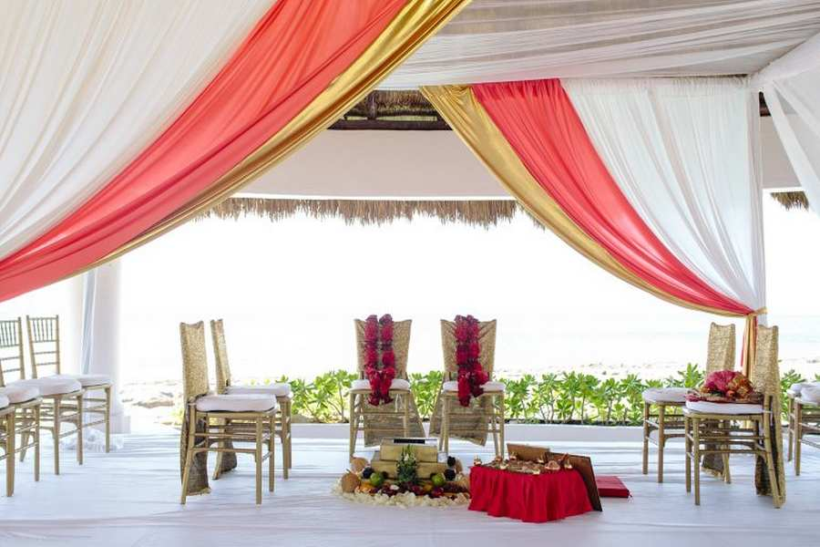 mandap decor package for indian weddings in mexico
