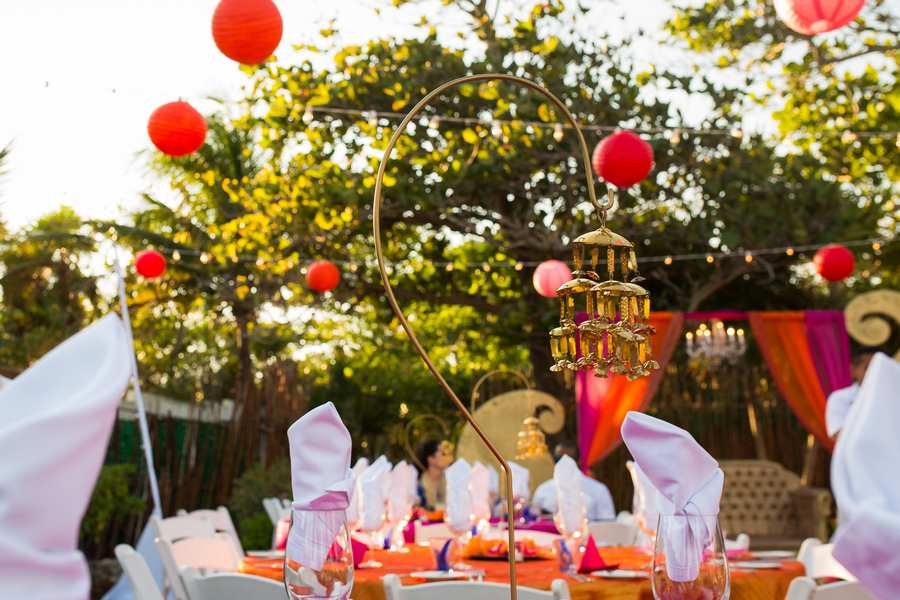 decor package for indian destination weddings in cancun