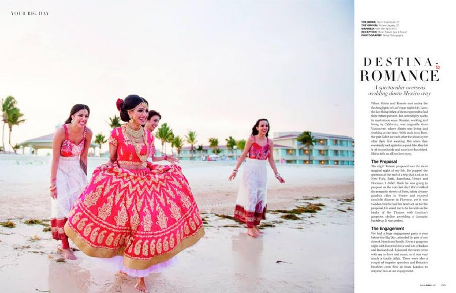 destination indian wedding at the beach photography and videography packages mexico by latin asia