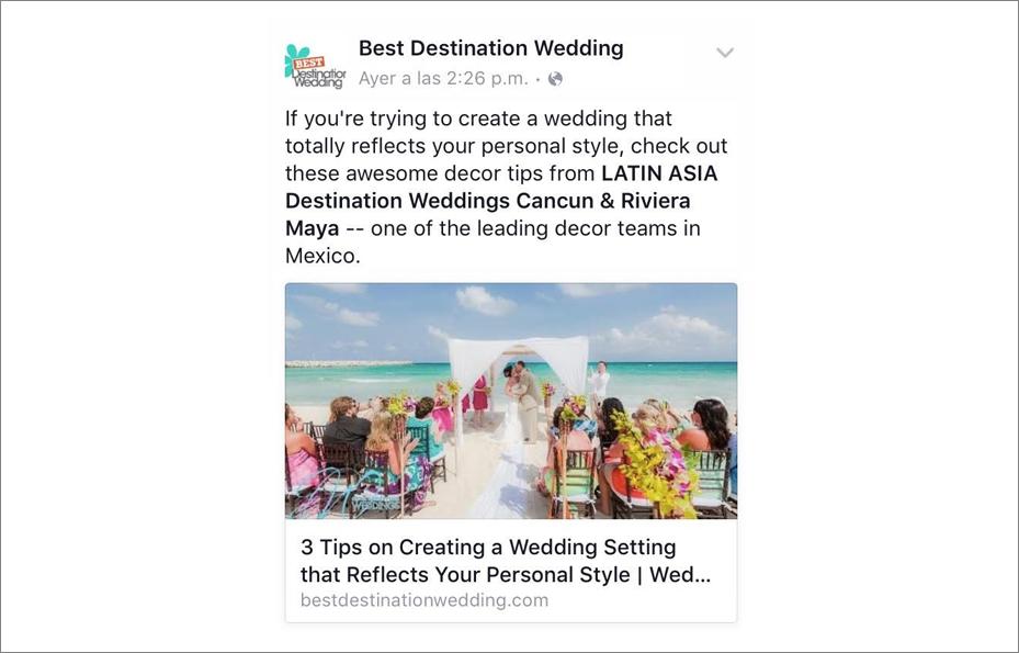 Best destination wedding in Cancun