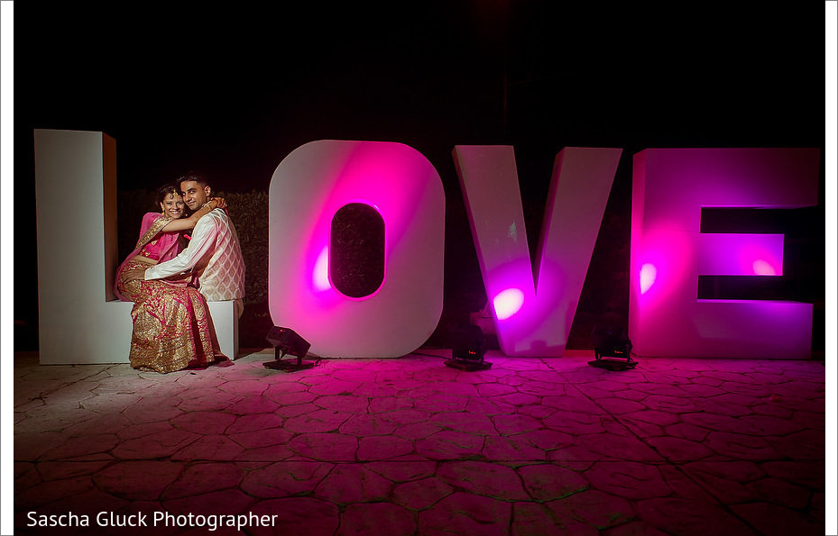 Love letters for a destination Indian wedding in Cancun