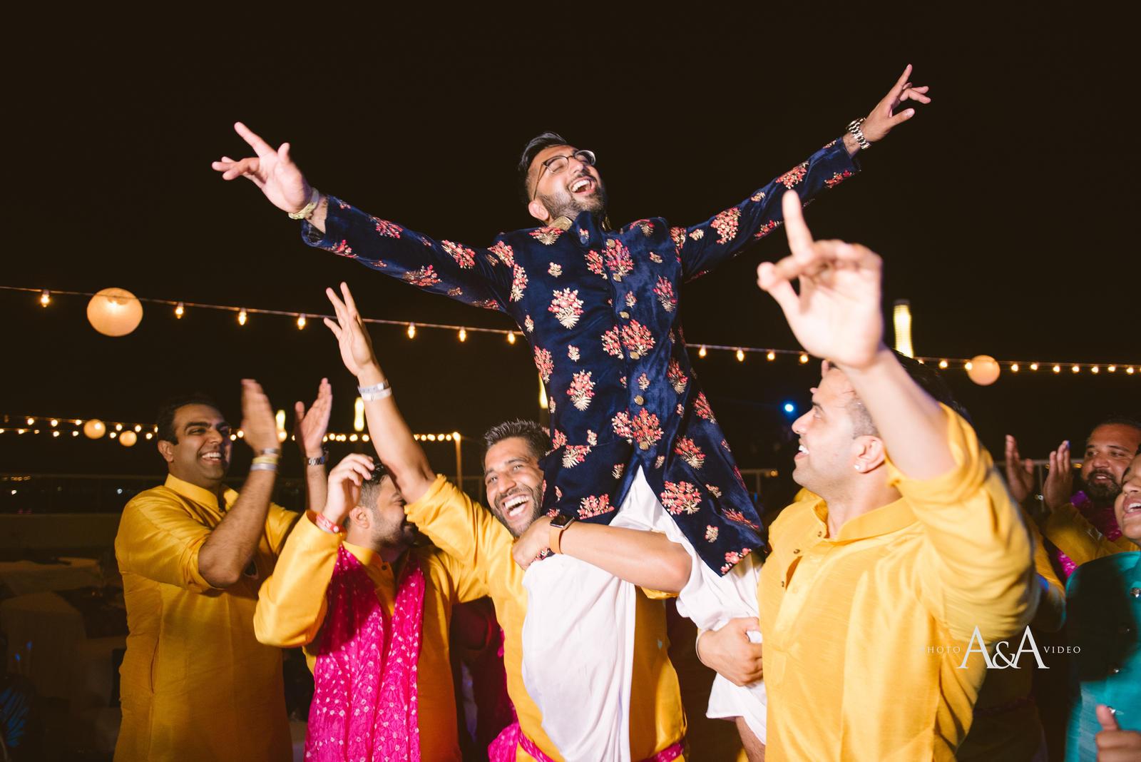 sikh beach wedding