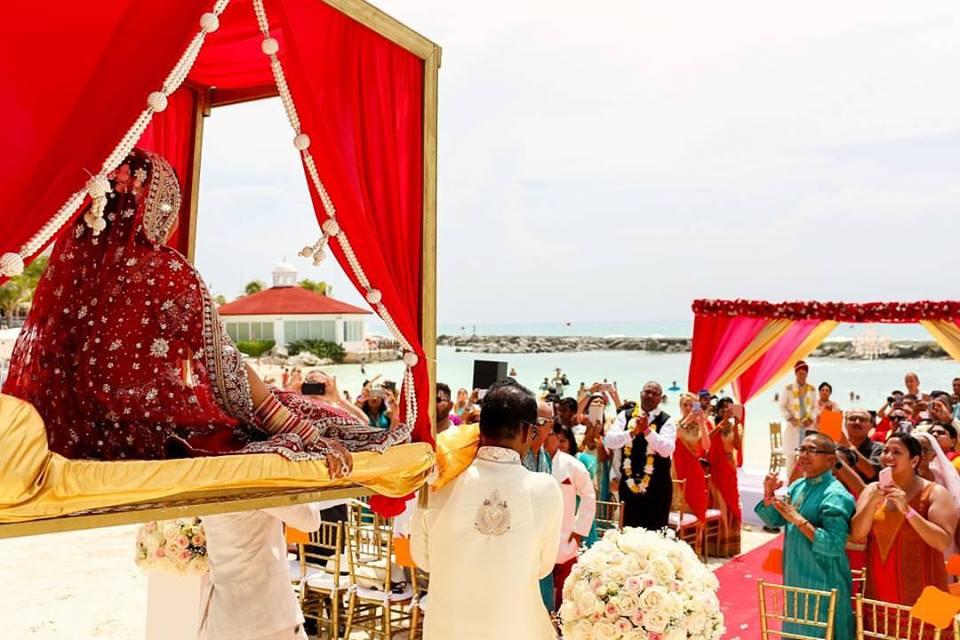 indian destination wedding cancun