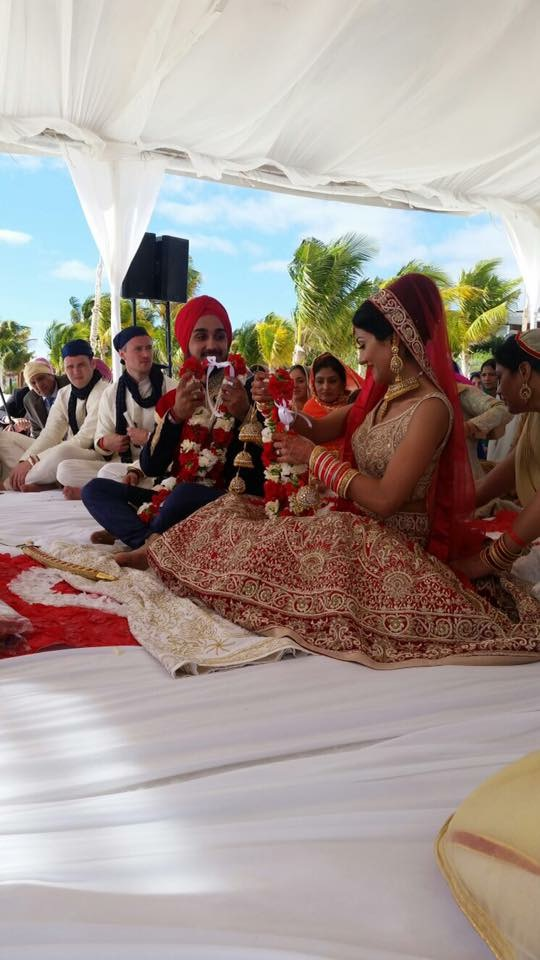 baraat & anand karaj sikh destination wedding