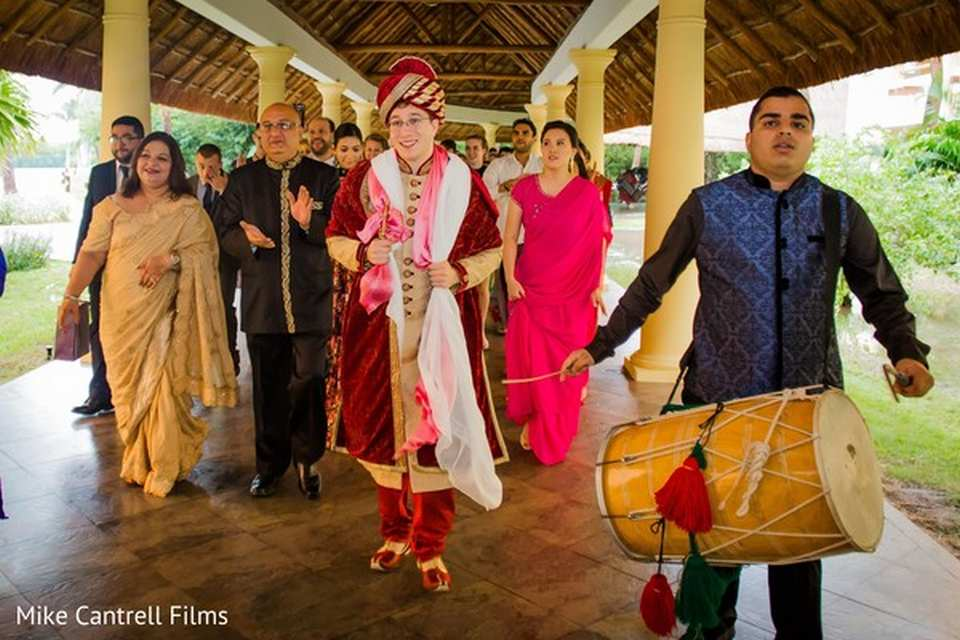 Barcelo Maya Indian wedding