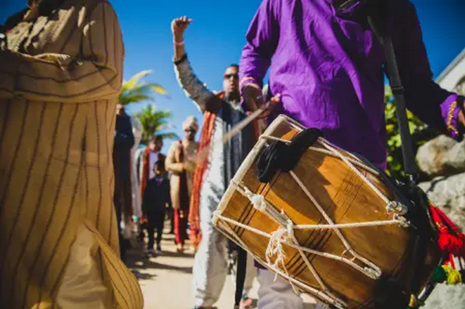 cost for dhol player cancun in all inclusive resorts cancun and riviera Maya mexico by latin asia one stop solution