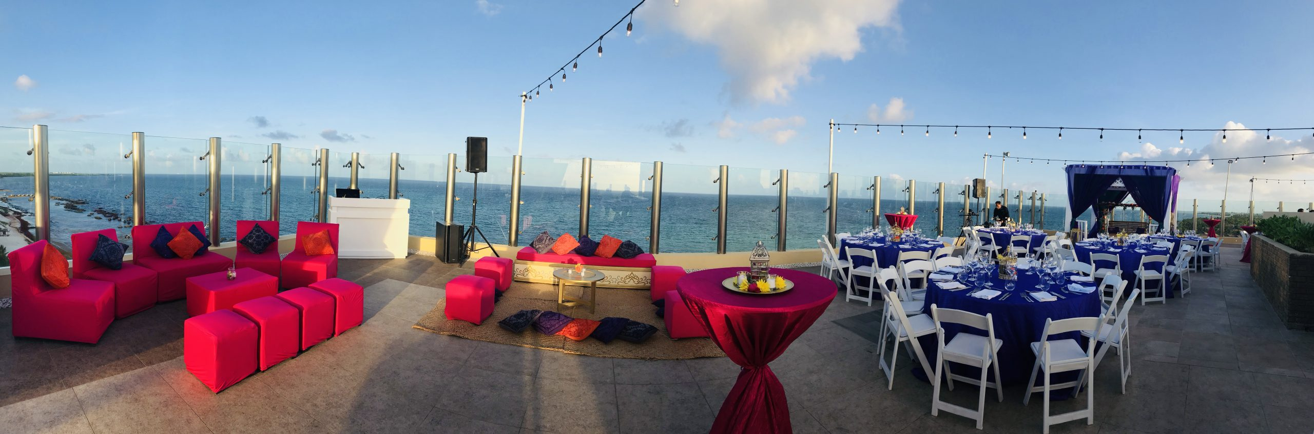 Decor cost for a mehndi event in generation riviera maya mexico by latin asia one stop solution