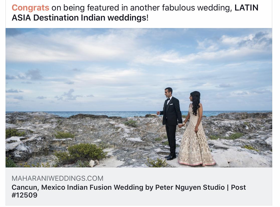 Cost of Fabulous destination Indian weddings in Playa del Carmen
