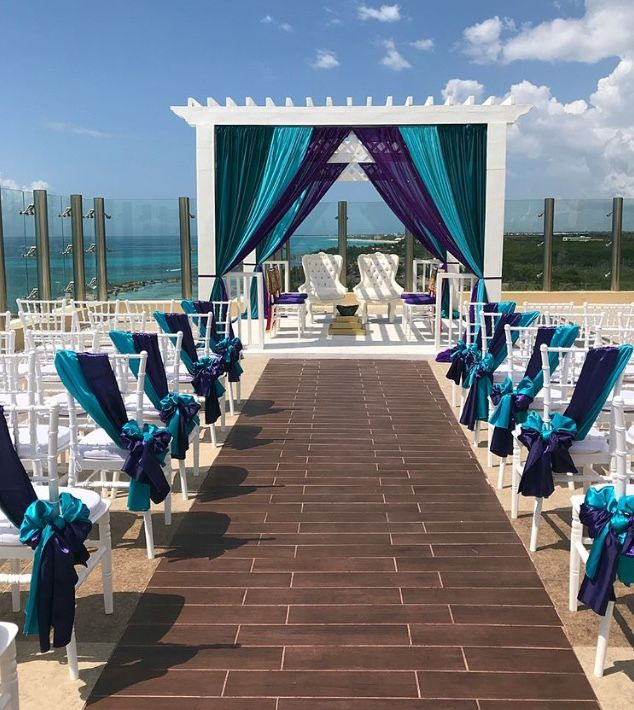 Hindu wedding decor packages riviera Maya mexico by Latin Asia