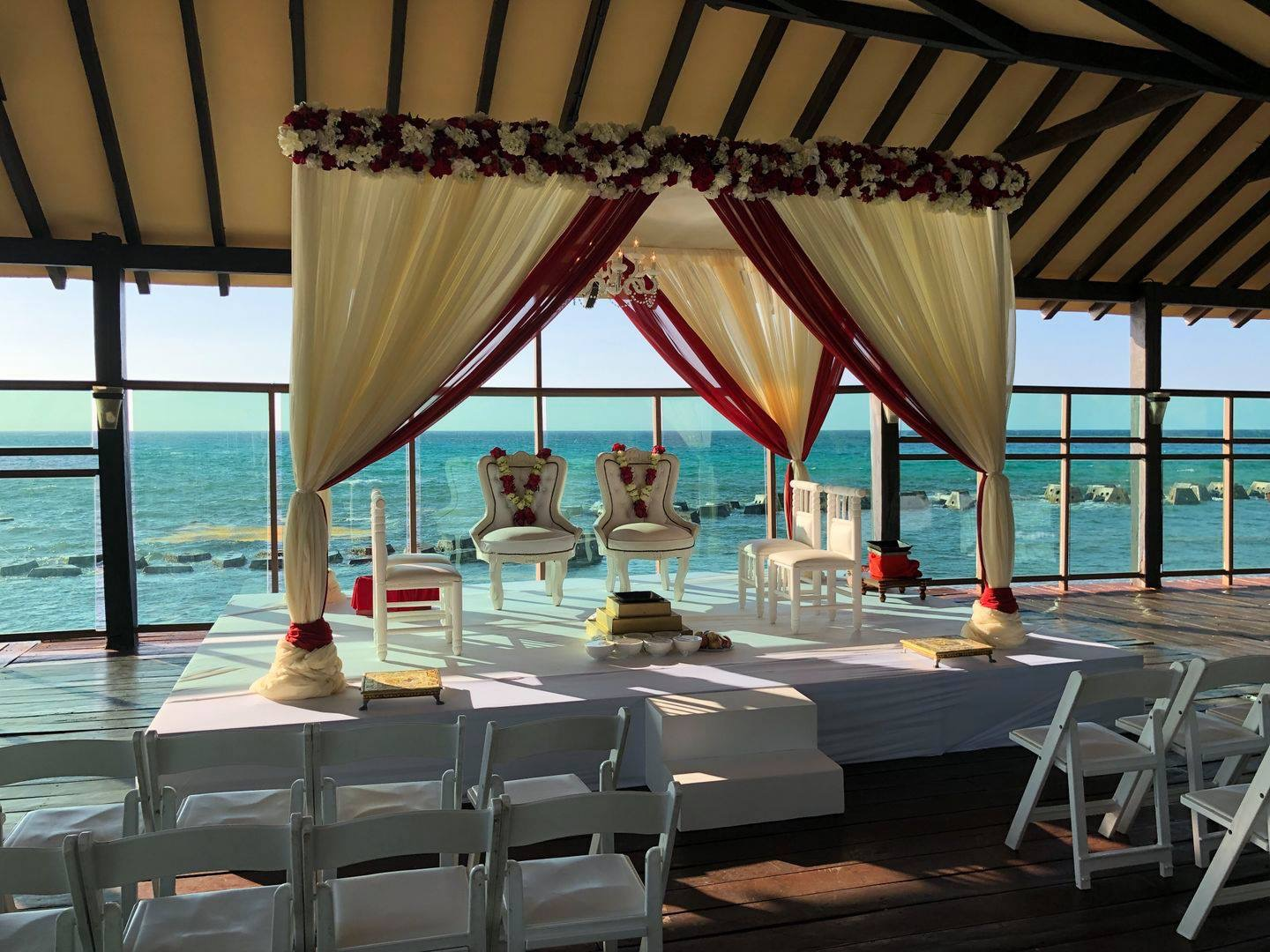 Pier venue for all inclusive wedding in riviera maya by latin asia one stop solution