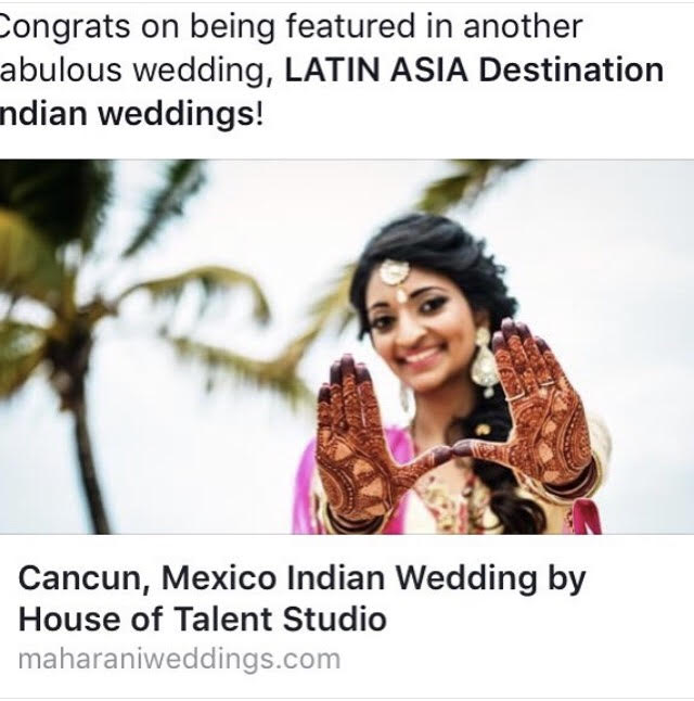 Cost of Real destination Indian weddings in Playa del carmen Mexico