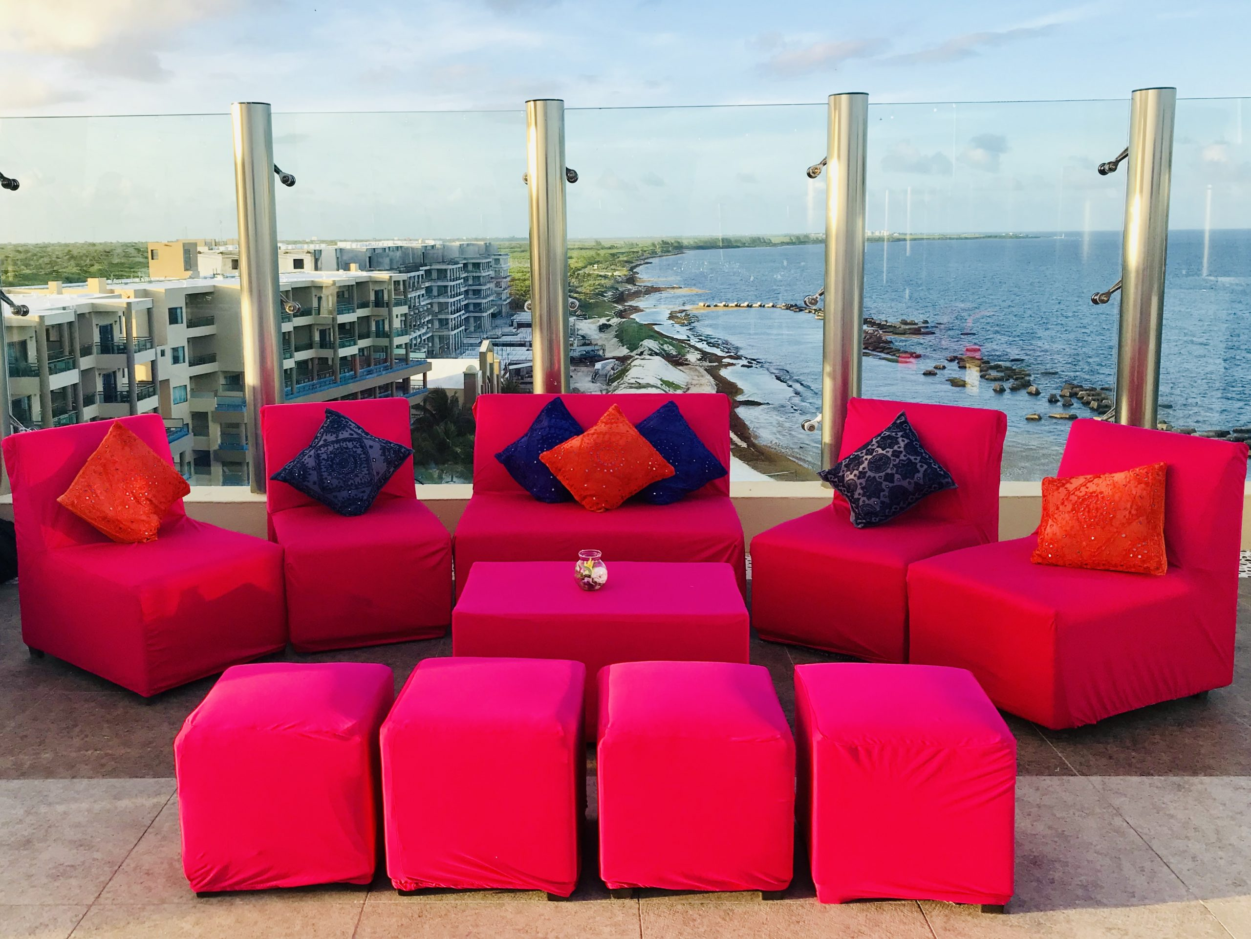 SKY DECK location cost for destination indian weddings at Generations riviera maya mexico