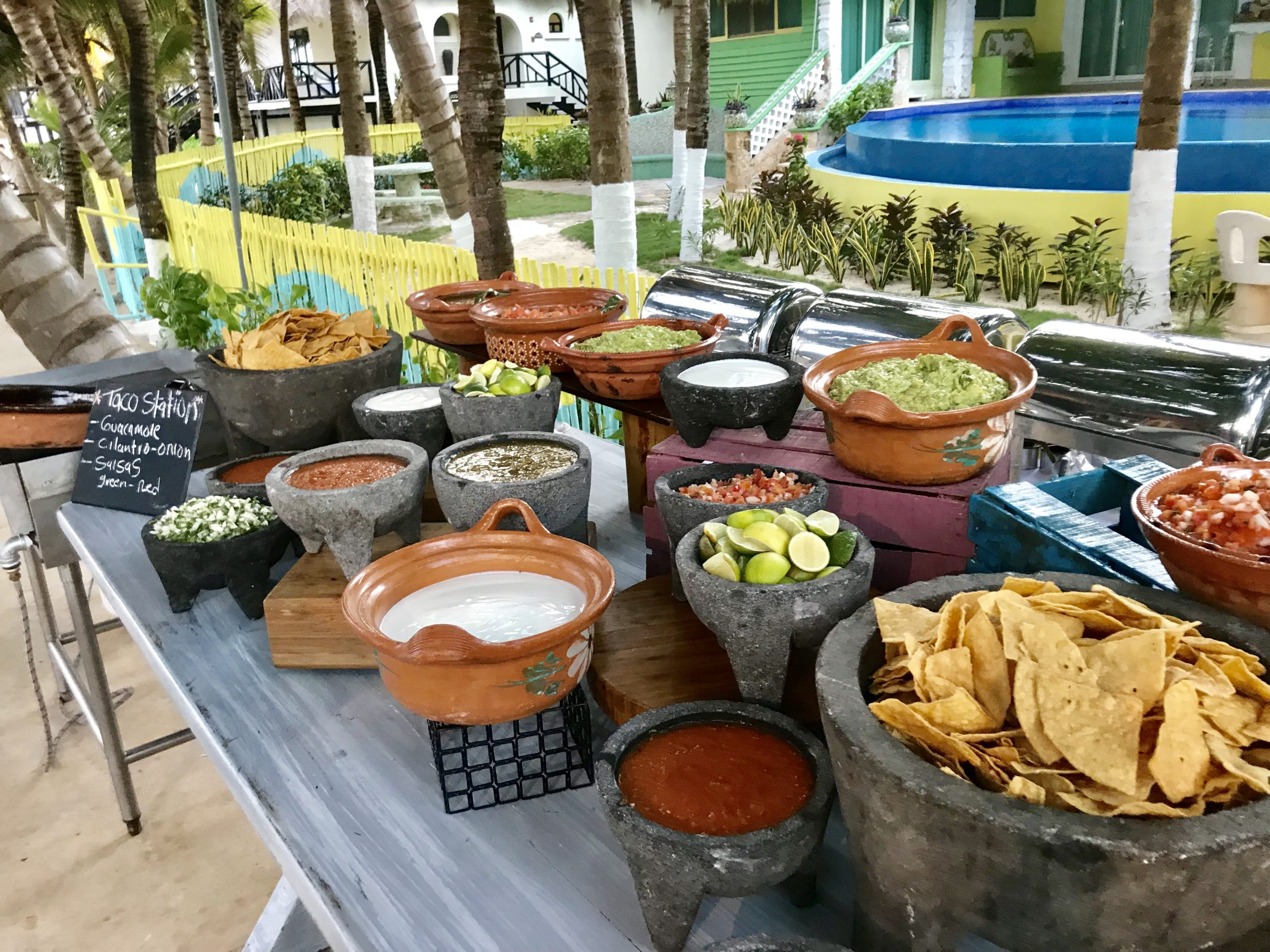 Taco station prices for a destination wedding in generations riviera maya cancun by latin asia one stop solution
