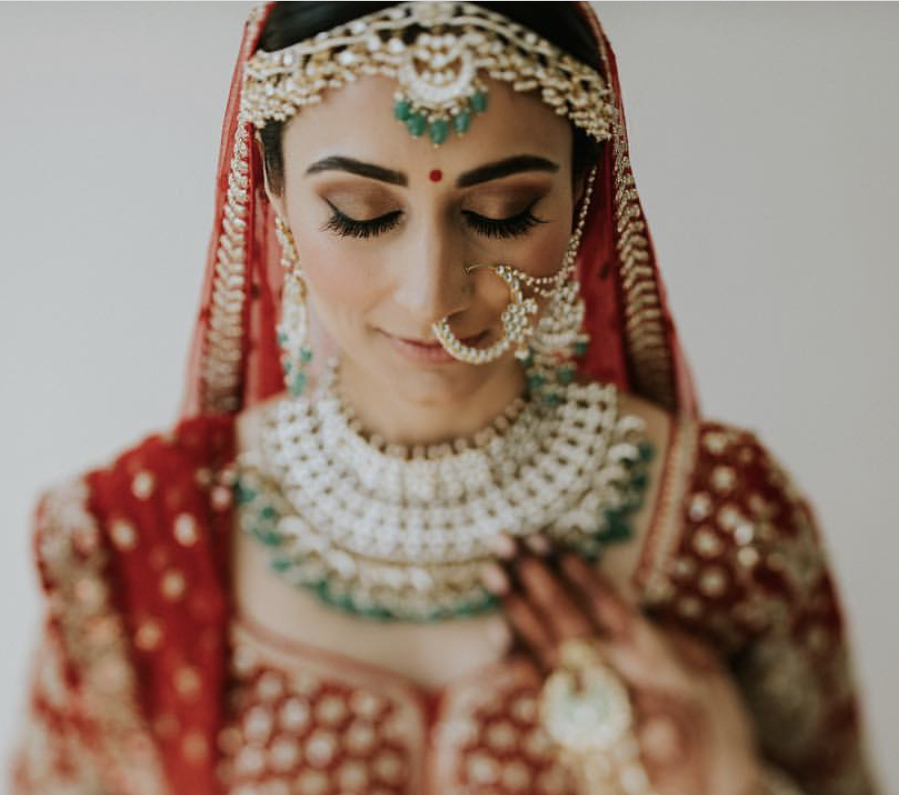 indian wedding hair and make up packages riviera Maya mexico by Latin Asia