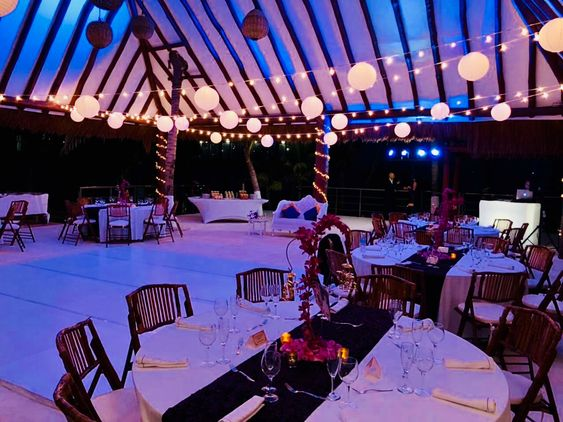 sangeet packages in a hut cancun by latin asia