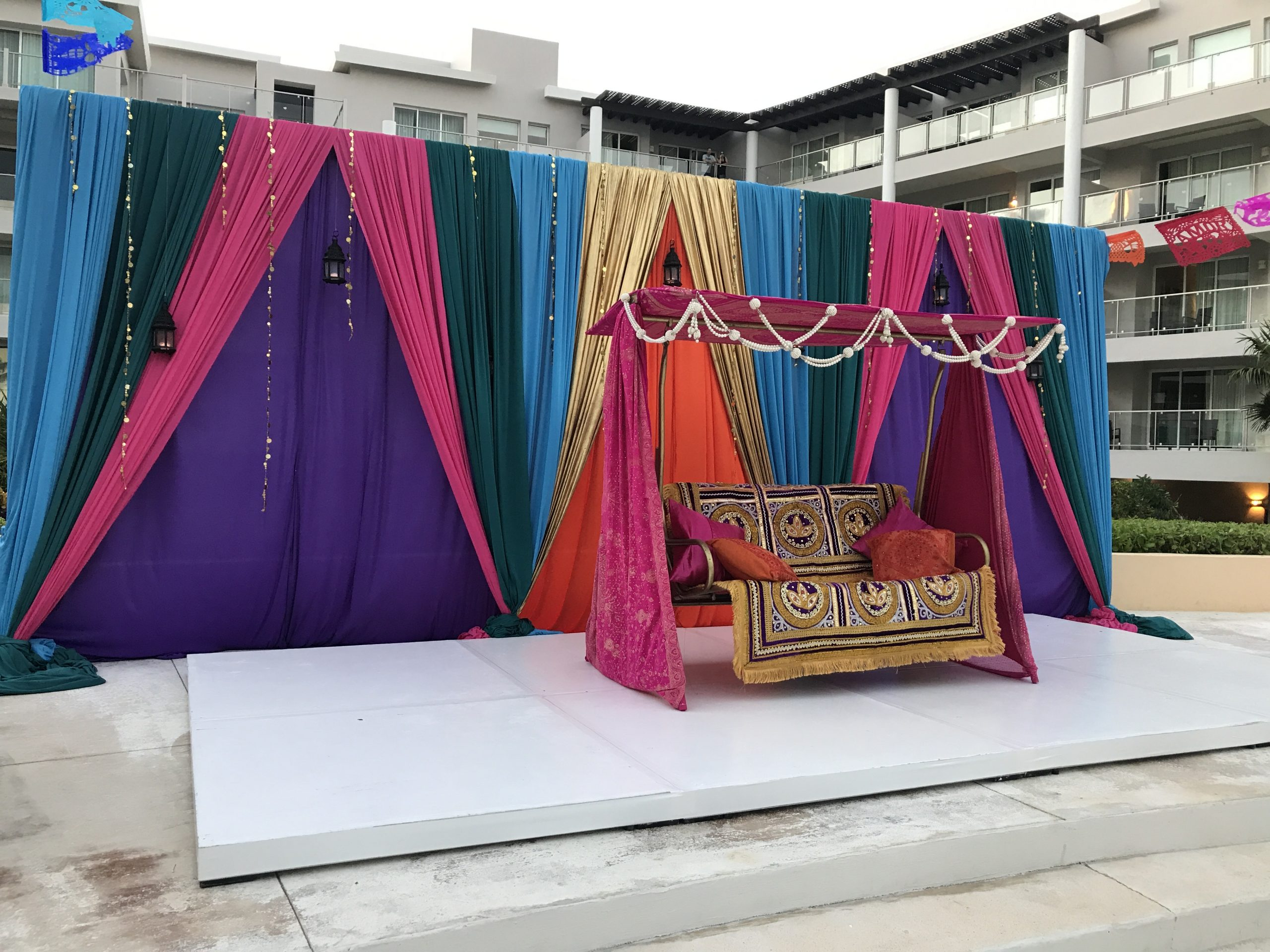 Sangeet decor cost for in now jade mexico by latin asia one stop solution