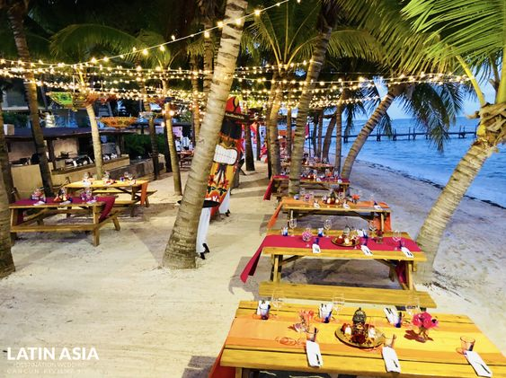 sangeet reception package for indian weddings in riviera maya by latin asia