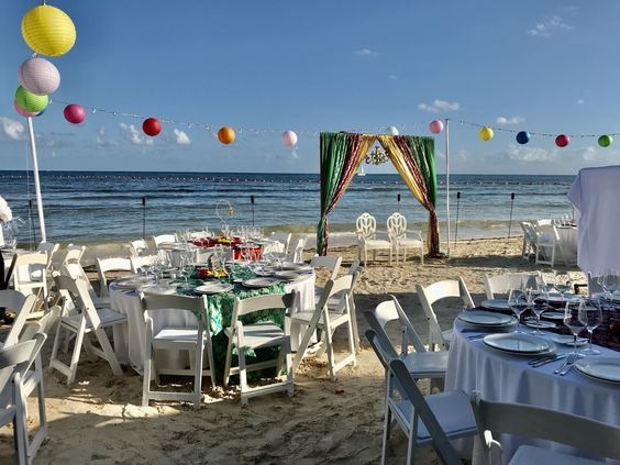 sangeet decor indian destination wedding packages in cancun