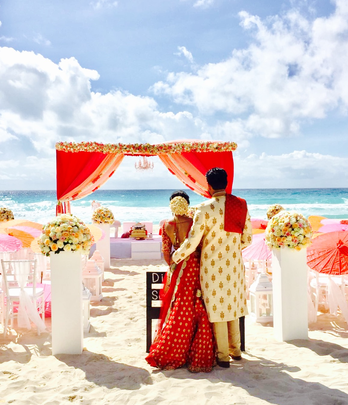 Spectacular indian destination wedding package at mexico