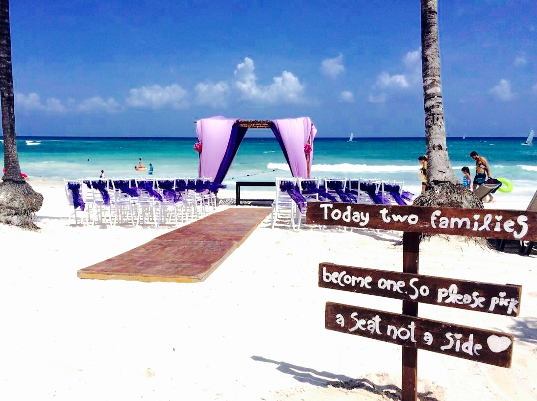 beach hindu wedding ceremony package in riviera maya