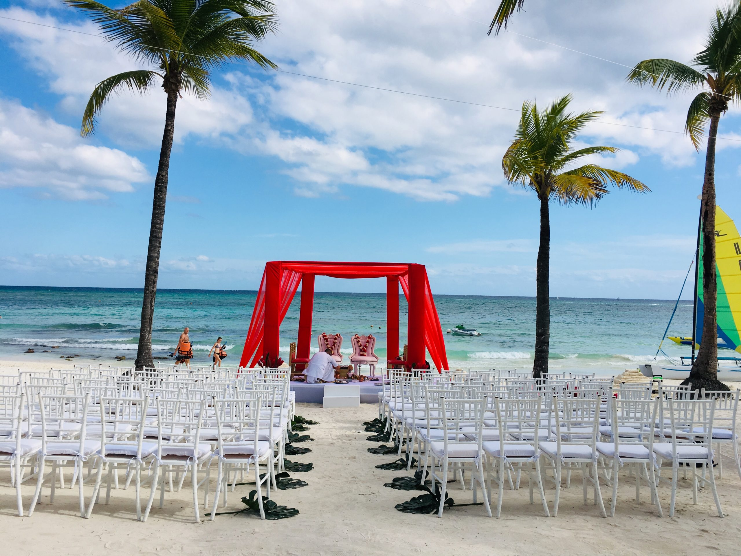 beach hindu wedding ceremony package in cancun by latin asia