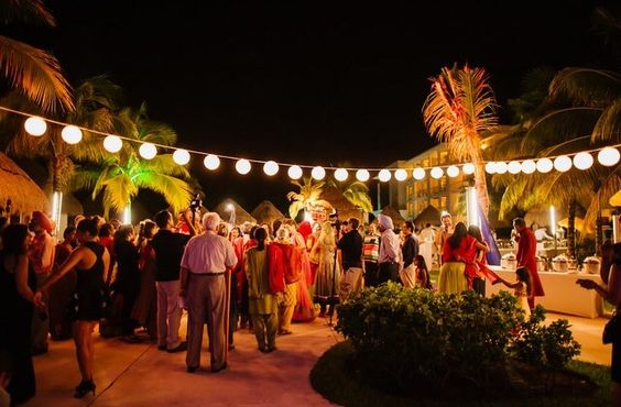 sangeet event in paradisus playa del carmen mexico by latin asia one stop solution