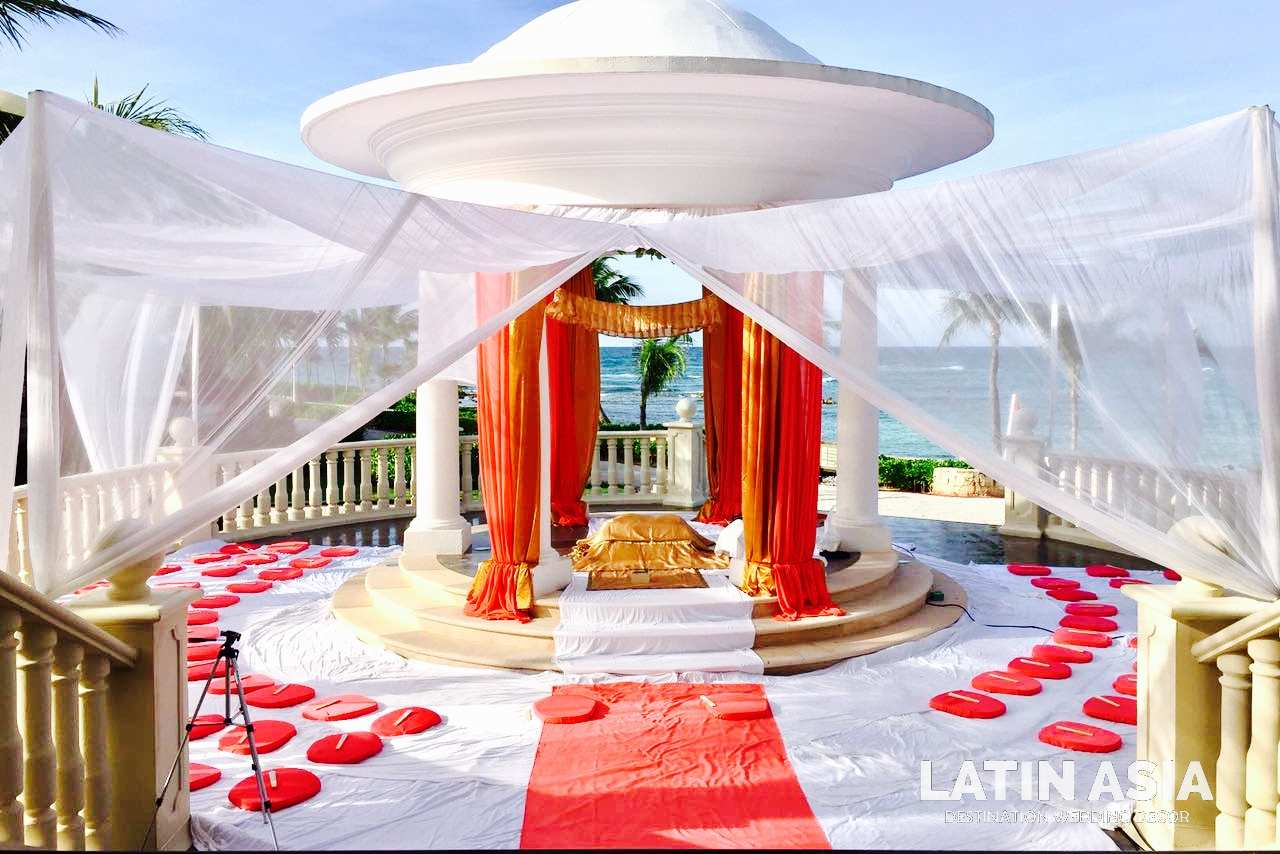 beach sikh destination wedding ceremony by latin asia one stop solution