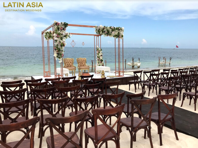 hindu mandap packages riviera maya mexico by latin asia