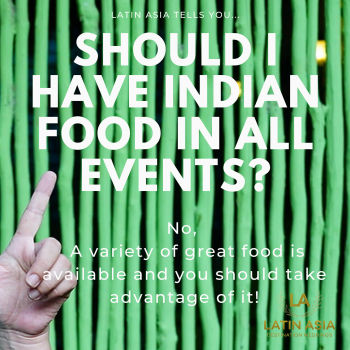 cost of indian food for Destination indian weddings