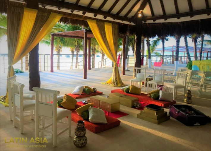 cost of venues for haldi event in cancun by latin asia one stop solution