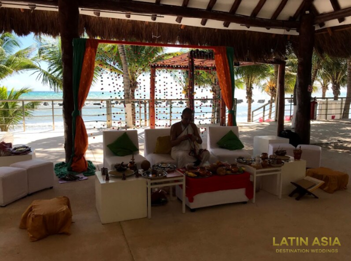 cost of venues for haldi event in riviera maya by latin asia one stop solution