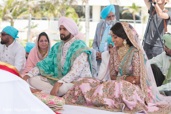 Indian ceremony cost for a destination wedding at Hyatt Ziva Cancun Mexico