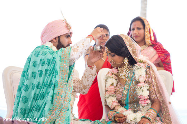 Indian ceremony cost for a destination wedding at Hyatt Ziva in Cancun Mexico