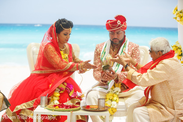 Karishma and Shashi Indian wedding at Sandos Cancun Luxury Resort cost