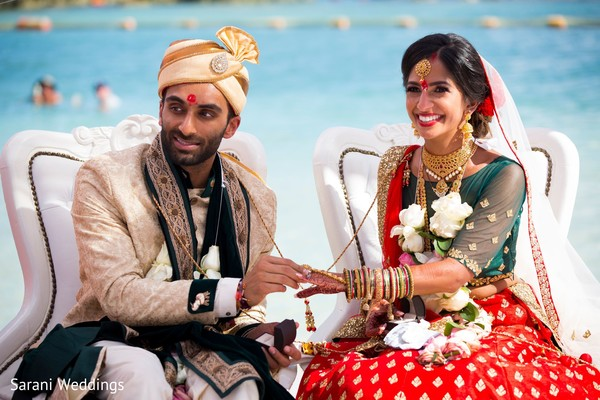 hindu destination wedding at riviera maya