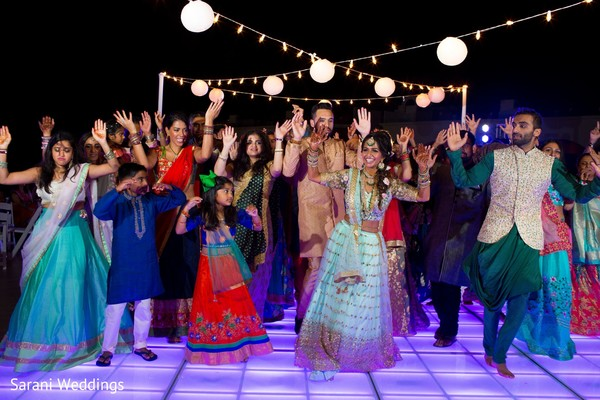sangeet decor package for indian weddings in mexico