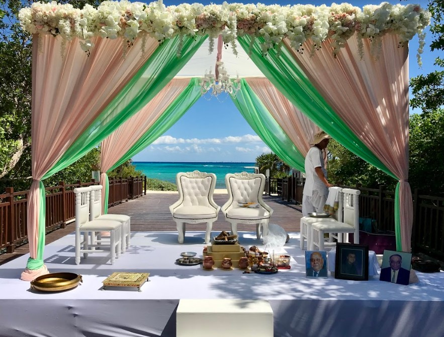 Cost of a Destination Wedding at Paradisus hotel beach in Playa del Carmen
