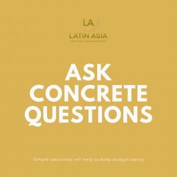concrete questions Indian destination weddings planning in riviera maya
