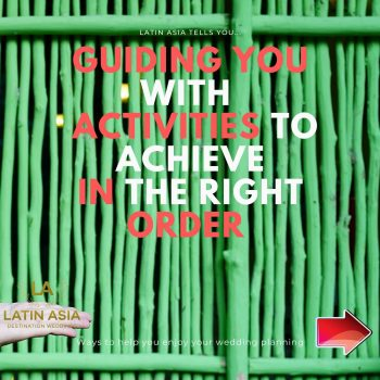 achieve right order of activities