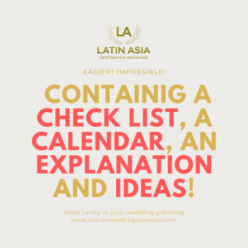 check list calendar and ideas