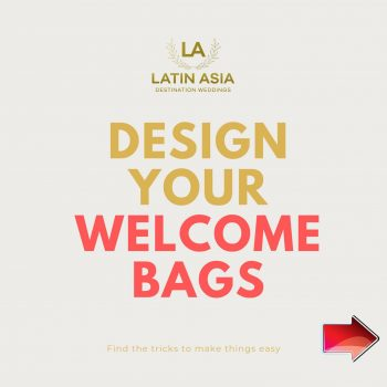 design your welcome bags