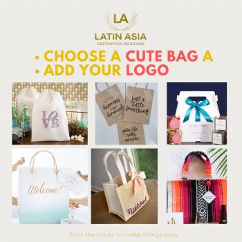 designing your welcome bags