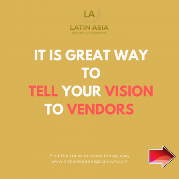 inspiration vision to vendors