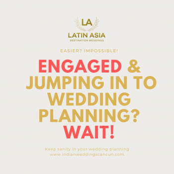 jumping wedding planning
