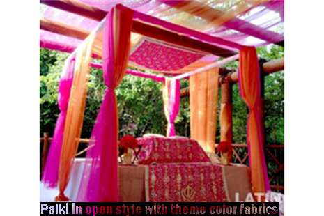 beach sikh wedding ceremony package set up mexico by latin asia