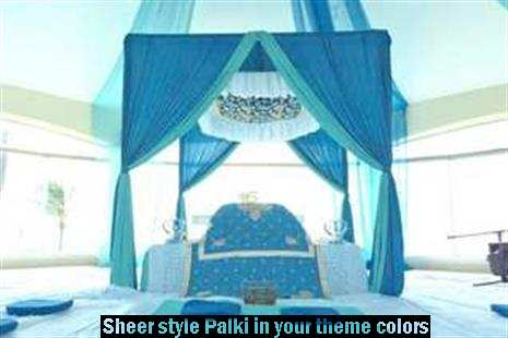 beach sikh wedding ceremony package set up cancun mexico by latin asia