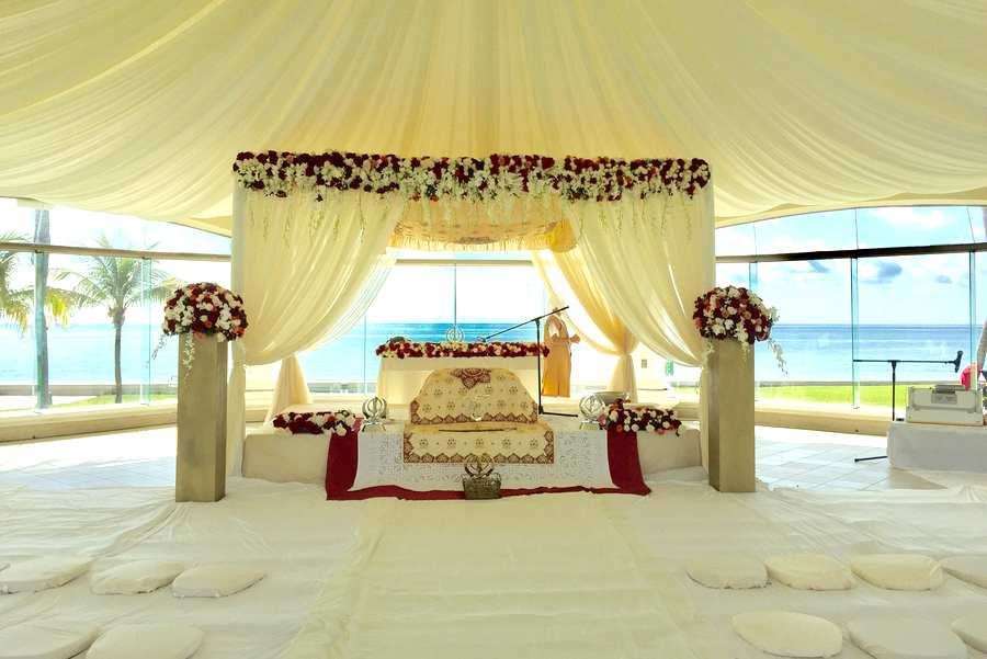 sikh palki wedding ceremony packages mexico by latin asia